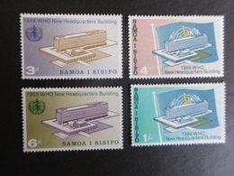 SAMOA, Année 1966, YT N°  191 à 194 Neufs MH*, Série Complète De 4 Valeurs - Samoa