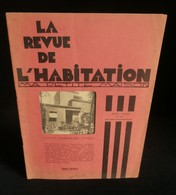 """( Architecture Arts Décoratifs Bauhaus Gropius ) LA REVUE DE L'HABITATION  """" MA PETITE MAISON """" Juin 1930 - Arte"""