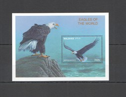 S463 MALDIVES BIRDS OF PREY EAGLES OF THE WORLD FAUNA BL MNH - Aigles & Rapaces Diurnes