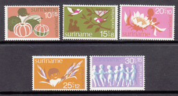Suriname MNH NVPH Nr 682/86 From 1974 / Catw 4.00 EUR - Suriname