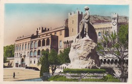 CARTOLINA - MONACO - PALAIS DU PRINCE ET MONUMENT COMMEMORATIF - Palazzo Dei Principi