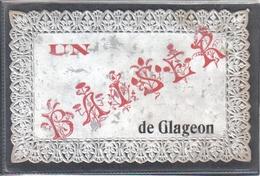 Carte Postale En Dentelle 59. Glageon  Très Beau Plan - Autres Communes