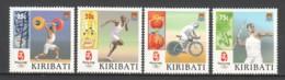 Kiribati 2008 Mi 1071-1074 MH SUMMER OLYMPICS BEIJING 2008 - Summer 2008: Beijing