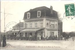 CPA Houilles Entrée De La Rue De Pontoise - Houilles