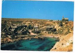 MALTA-28   ANCHOR BAY : POPEYE VILLAGE - Malte