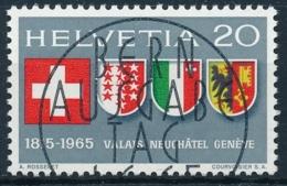 Zmumstein 432 / Michel 819 Mit Ersttag Vollstempel - Suisse