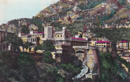 CARTOLINA - MONACO - PRINCIPAUTE DE MONACO - LE ROCHER . LE PALAIS DU PRINCE DE MONACO - Monte-Carlo