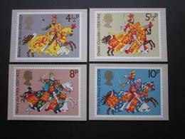 1974 MEDIEVAL WARRIORS STAMPS P.H.Q. CARDS  UNUSED.  ( P.H.Q. CARD NUMBER 7 ) - 1952-.... (Elizabeth II)