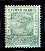 Cayman-035 - Emissione 1901 (+) LH - Senza Difetti Occulti. - Cayman (Isole)