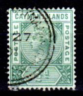 Cayman-036 - Emissione 1901 (o)  - Senza Difetti Occulti. - Cayman (Isole)