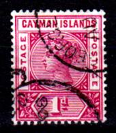 Cayman-037 - Emissione 1901 (o)  - Senza Difetti Occulti. - Cayman (Isole)