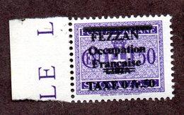 Fezzan Taxe N°4 (reproduction ) N* TB Cote 1800 Euros !!!RARE - Unused Stamps