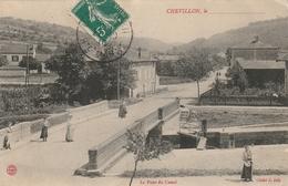 Chevillon,le Pont Du Canal,écrite,,timbrée - Chevillon