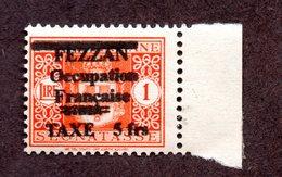 Fezzan Taxe N°5 (reproduction ) N* TB Cote 18 000 Euros !!!RARE - Unused Stamps