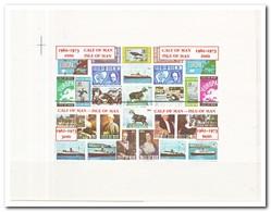 Calf Of Man 1973, Postfris MNH, Stamp On Stamp, Europe, Cept, Motor, Cat, Bird, Ship - Man (Eiland)