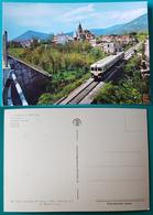 Cartolina S. Maria A Vico (Caserta) - Ferrovia. Non Viaggiata - Caserta