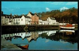 Ref 1298 - Postcard - Harbour & Houses Inveraray - Argyllshire Scotland - Argyllshire