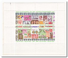 Calf Of Man 1972, Postfris MNH, Stamp On Stamp, Royal Silver Wedding - Man (Eiland)