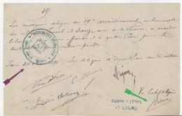 COMMUNE DE PARIS GARDE NATIONALE 17E LÉGION, ORDRE SIGNÉ ROSSEL - 1849-1876: Periodo Classico