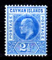 Cayman-039 - Emissione 1905 (+) LH - Senza Difetti Occulti. - Cayman (Isole)