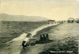 MARINA DI CARRARA  MASSA-CARRARA  Spiaggia  Castelli Di Sabbia - Carrara
