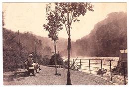 CPA Bellegarde, Chules Du Rhone Vous Du Belvedere, Gel. 1936 - Bellegarde