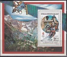 1992 ALBERTVILLE - Madagaskar - MiNr: 1261 Block 139  ** / MNH - Winter 1992: Albertville