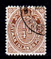 Cayman-040 - Emissione 1908 (o) - Senza Difetti Occulti. - Cayman (Isole)