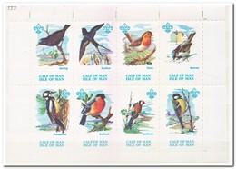 Calf Of Man 1973, Postfris MNH, Birds, Scouting - Man (Ile De)