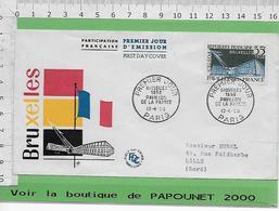 001081-E BE04 1000-EXPO 58 - 1958 – Bruxelles (Belgique)