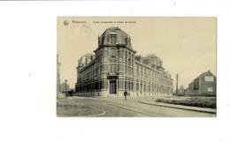 Mouscron. Ecole Industrielle Et Palais De Justice. - Mouscron - Moeskroen