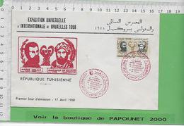 001083-E BE04 1000-EXPO 58 - 1958 – Bruxelles (Belgique)