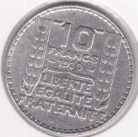 10 Francs Turin 1930 , En Argent - France
