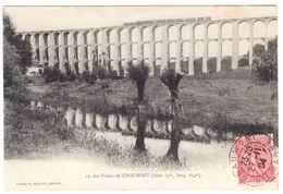 CPA Chaumont, Le Viaduc De Chaumont, Gel. 1904 - Chaumont
