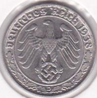 Allemagne . 50 Reichspfennig 1938 D München. Nickel. KM# 95 - [ 4] 1933-1945 : Third Reich