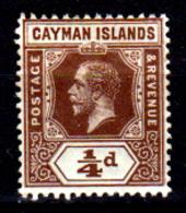 Cayman-041 - Emissione 1912-20 (+) LH - Senza Difetti Occulti. - Cayman (Isole)