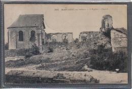 Carte Postale 59. Marcoing En Ruines  Très Beau Plan - Marcoing