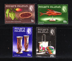 Pitcairn   -  1968.  Artigianato: Oggetti In Legno. Handicrafts: Wooden Objects. Complete MNH Series - Altri
