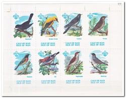 Calf Of Man 1973, Postfris MNH, Birds, Scouting - Man (Eiland)