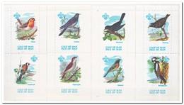 Calf Of Man 1973, Postfris MNH, Birds, Scouting ( With Bird Name ) - Man (Eiland)
