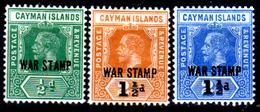 Cayman-042 - Emissione 1917-1919 (+) LH - Senza Difetti Occulti. - Cayman (Isole)