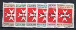 Smom 1975 -- Segnatasse N°11-16 --- Complete ** MNH / VF - Sovrano Militare Ordine Di Malta