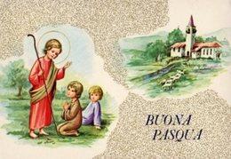 Cartolina BUONA PASQUA (Viaggiata 1978) - OTTIMA AM-V-2 - Pasqua