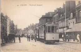 Calais - Boulevard Jacquard Tramway - Calais