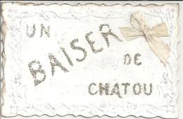 CPA Un Baiser De Chatou - Chatou