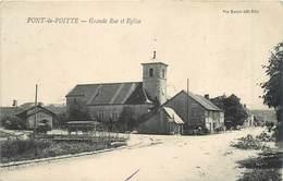 PONT DE POITTE - Grande Rue Et église. - Autres Communes