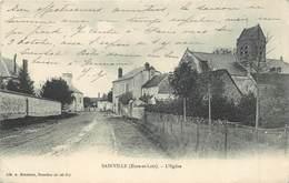 SAINVILLE - L'église. - France