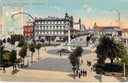 "URUGUAI Uruguay - MONTEVIDEO : Plaza Libertad - CPA "" Vernie "" - South America Sudamerica Amérique Du Sud - Uruguay"