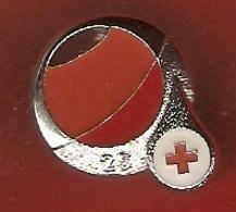 Croix Rouge De Belgique 2019 - Donneur De Sang Depuis 25 Ans - Pin's Neuf - Medical