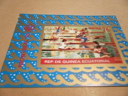 Miniature Sheet 1976 Winter Olympics Rowing - Equatorial Guinea